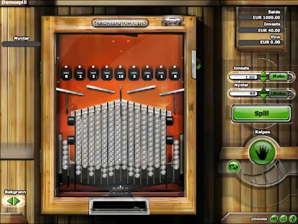 Kronesautomaten är en kul spelautomat